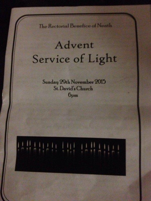Advent servie
