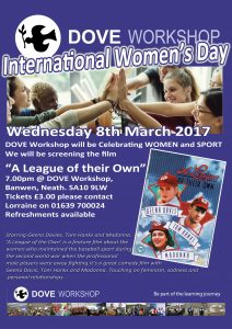 DOVE Workshop – International Women's Day, 8th March
