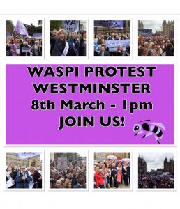 WASPI Protest – 8th March