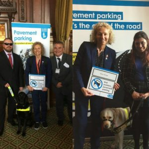"""Christina Rees MP says """"it's the end of the road for unsafe pavement parking"""""""