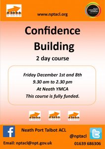 Confidence Building 2 Day Course