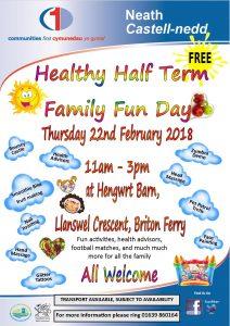Healthy Half term Family Fun Day