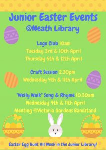 Easter event at Neath Library